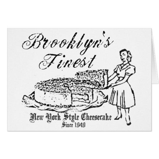 BROOKLYN CHEESECAKE CARD