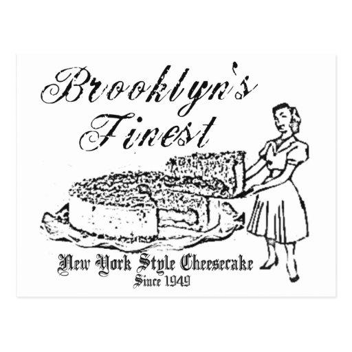BROOKLYN CHEESECAKE POSTCARDS