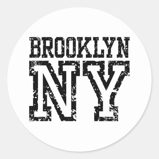 Brooklyn Classic Round Sticker