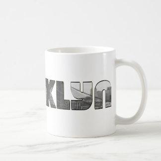 Brooklyn Classic White Coffee Mug