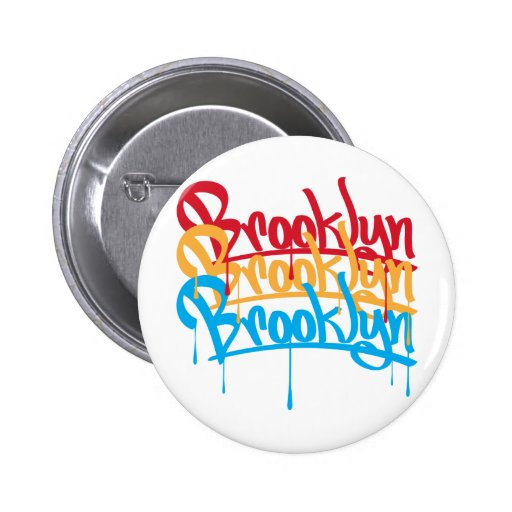 Brooklyn Colors 2 Inch Round Button