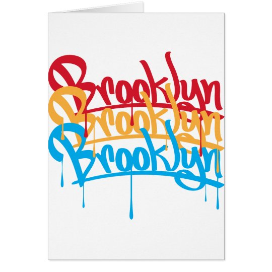 Brooklyn Colors Card