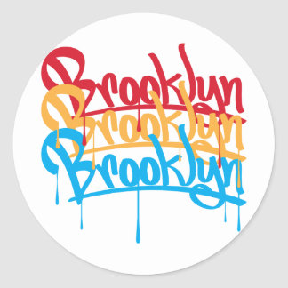 Brooklyn Colors Classic Round Sticker