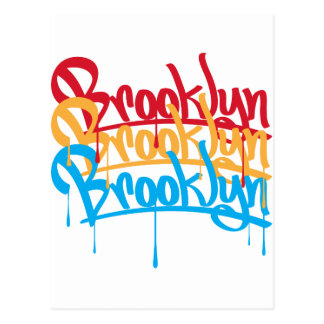Brooklyn Colors Postcard