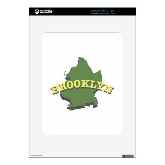 Brooklyn Decal For The iPad