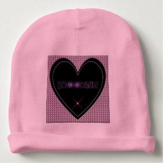 Brooklyn Diamonds Heart Baby Beanie