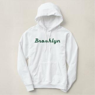 Brooklyn Embroidered Ladies Pullover Hoodie