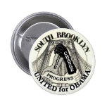 Brooklyn for Obama 2012 Pinback Button