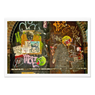 Brooklyn Graffiti Picture by Plutohead Photo Print