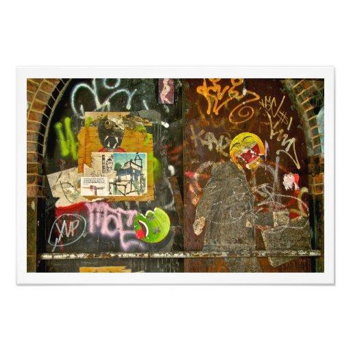 Brooklyn Graffiti Picture by Plutohead Photo Print