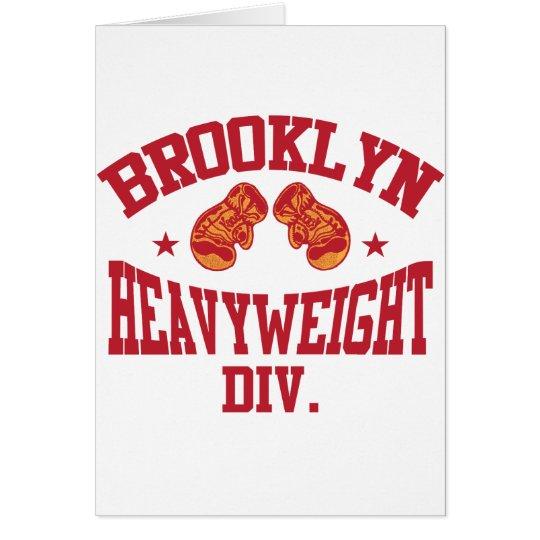 Brooklyn Heavyweight Division Red Card