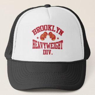 Brooklyn Heavyweight Division Red Trucker Hat