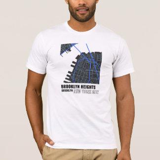 Brooklyn Heights, Brooklyn NYC T-Shirt in Blue