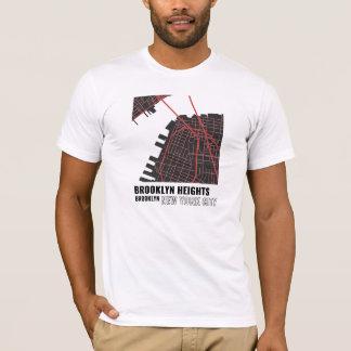 Brooklyn Heights, Brooklyn NYC T-shirt in Red