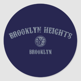 Brooklyn Heights Classic Round Sticker