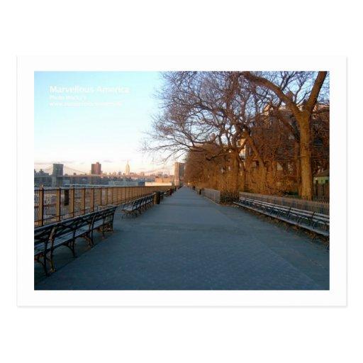 Brooklyn Heights Esplanade Postcard