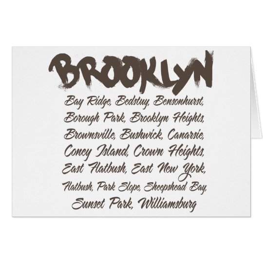 Brooklyn Hoods Card