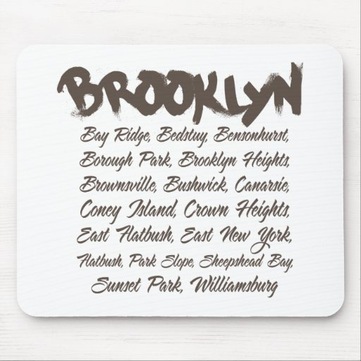 Brooklyn Hoods Mouse Pads