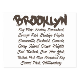Brooklyn Hoods Postcard
