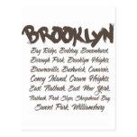 Brooklyn Hoods Postcard