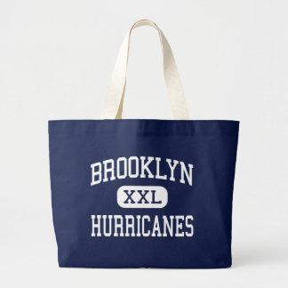 Brooklyn - huracanes - alta - Brooklyn Ohio Bolsas Lienzo