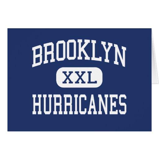 Brooklyn - huracanes - alta - Brooklyn Ohio Tarjeta