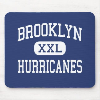 Brooklyn Hurricanes Middle Brooklyn Ohio Mouse Pad