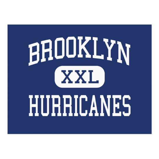 Brooklyn Hurricanes Middle Brooklyn Ohio Postcard