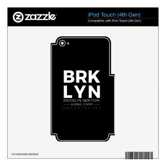brooklyn iPod touch 4G skins