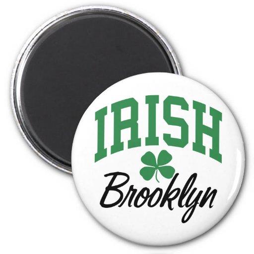 Brooklyn Irish 2 Inch Round Magnet