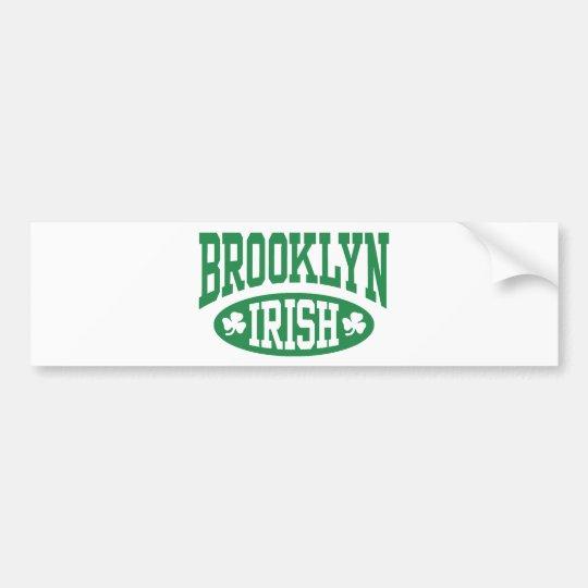 Brooklyn Irish Bumper Sticker