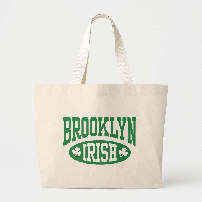 Brooklyn Irish Large Tote Bag