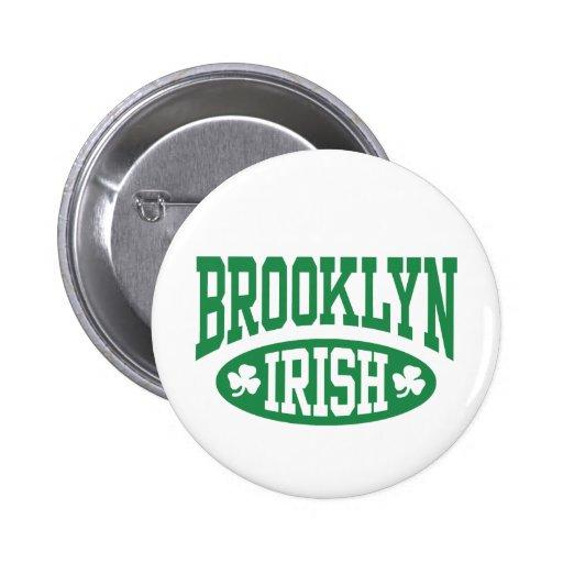 Brooklyn Irish Pinback Buttons