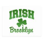 Brooklyn Irish Postcard
