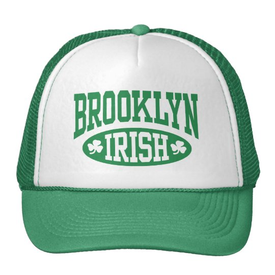 Brooklyn Irish Trucker Hat