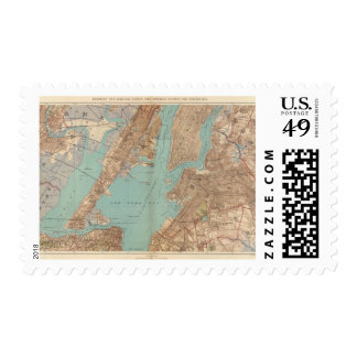 Brooklyn, Jersey City, and Hoboken Postage Stamps