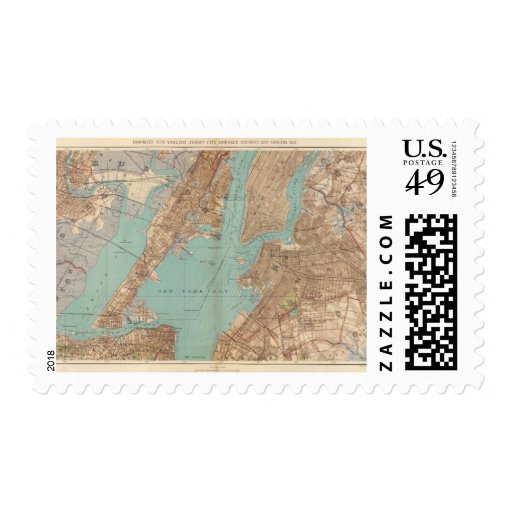 Brooklyn, Jersey City, and Hoboken Stamp