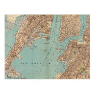 Brooklyn, Jersey City, y Hoboken Tarjeta Postal