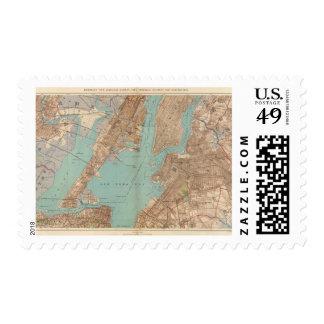 Brooklyn, Jersey City, y Hoboken Timbres Postales