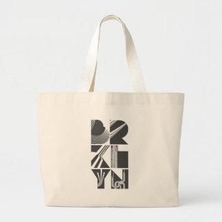 Brooklyn Lines Canvas Bag