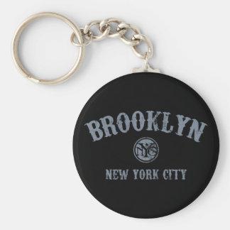 *Brooklyn Llavero Redondo Tipo Pin