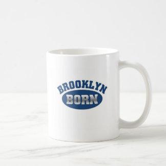 Brooklyn llevada taza básica blanca