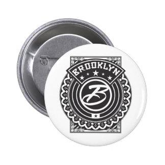 Brooklyn Logo Button
