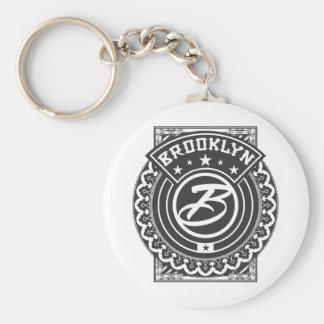 Brooklyn Logo Keychain