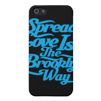 Brooklyn Love Blue Cases For iPhone 5