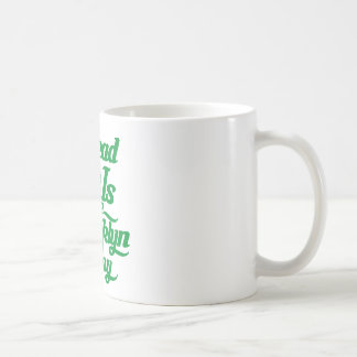 Brooklyn Love Green Coffee Mug