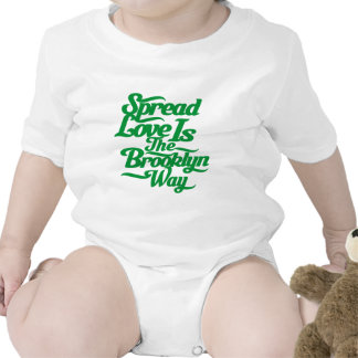 Brooklyn Love Green Rompers