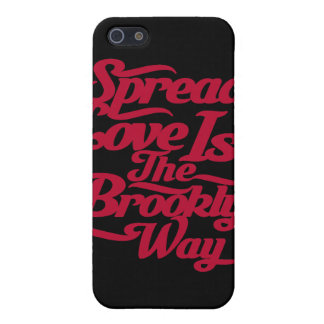 Brooklyn Love Red Cases For iPhone 5