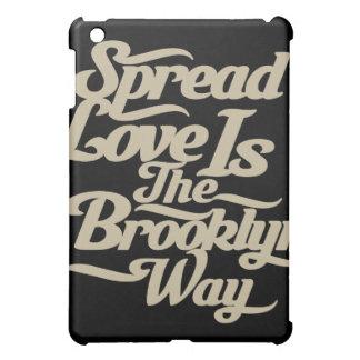 Brooklyn Love Tan iPad Mini Case