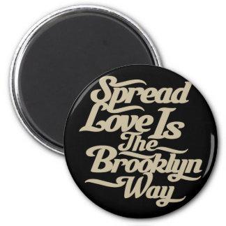 Brooklyn Love Tan Magnet
